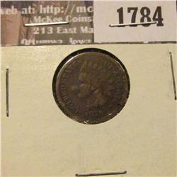 1784 _ 1879 Indian Head Cent. VG-8.