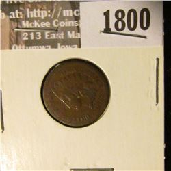 1800 _ 1877 Indian Head Cent. G-6.