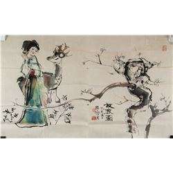 CHENG SHIFA Chinese 1921-2007 Watercolor on Paper