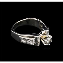 1.65 ctw Diamond Ring - 18KT White Gold