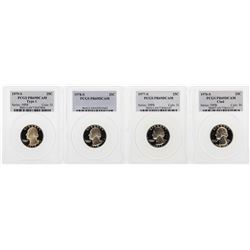 Set of 1976-S to 1979-S Washington Quarter Coins PCGS PR69DCAM