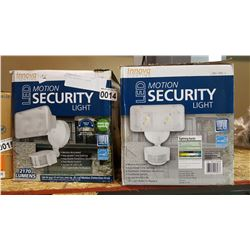 2 LED SECURITY LIGHTS