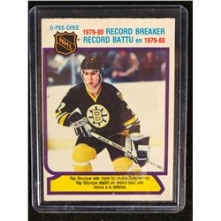 1980-81 O-Pee-Chee #2 RAY BOURQUE Rookie Record Breaker