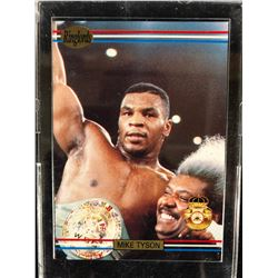 Mike Tyson 1991 Ringlords Players International Sample Boxing Card **RARE**