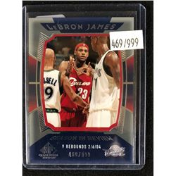 2004-05 SP Game Used Season In Review #156 Lebron James (469/999)