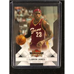 2009 PANINI THREADS #1 LEBRON JAMES