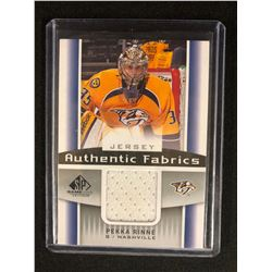 2013-14 SP GAME USED Authentic Fabrics PEKKA RINNE