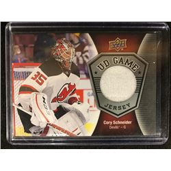 2016-17 Upper Deck Game Jerseys #GJCS Corey Schneider New Jersey Devils