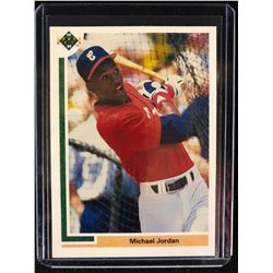 1991 Upper Deck Michael Jordan Baseball ROOKIE CARD