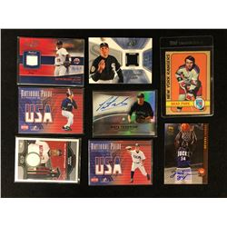MIXED SPORTS TRADING CARDS LOT