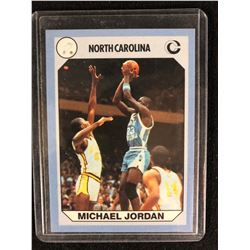 Michael Jordan North Carolina Collegiate College Collection Card