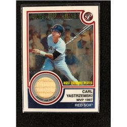 Carl Yastrzemski 2005 Topps Pristine Legends Valuable Performaance Game Used Bat