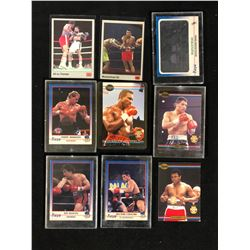 BOXING TRADING CARDS LOT