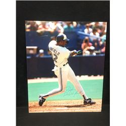 """DAVE WINFIELD AUTOGRAPHED 16"""" X 20"""" WALL DISPLAY"""