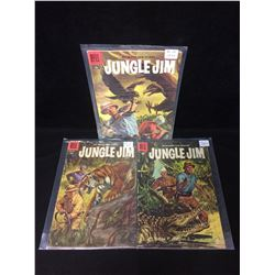 JUNGLE JIM COMIC BOOK LOT (DELL COMICS)