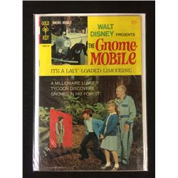 Walt Disney THE GNOME MOBILE 1967 Gold Key Movie Comic