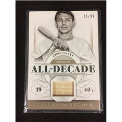2014 PANINI NATIONAL TREASURES *EDDIE STANKY GAME USED BAT RELIC* DODGERS 25/99
