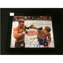 "PATRICK COTE SIGNED 8"" X 10"" FRAMED COLOR PHOTO (UFC)"