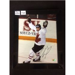 "RICK NASH SIGNED 8"" X 10"" FRAMED COLOR PHOTO (TEAM CANADA)"