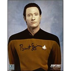 Brent Spiner Autographed Star Trek: The Next Generation Data Lore 8x10 Photo