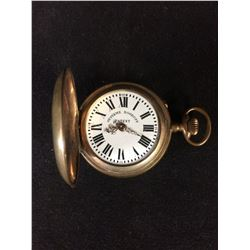 SYSTEME ROSKOPF PATENT HUNTING CASE POCKET WATCH