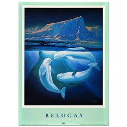 Belugas the White Whales by Wyland