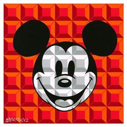 8-Bit Block Mickey (Red) by Loveless, Tennessee