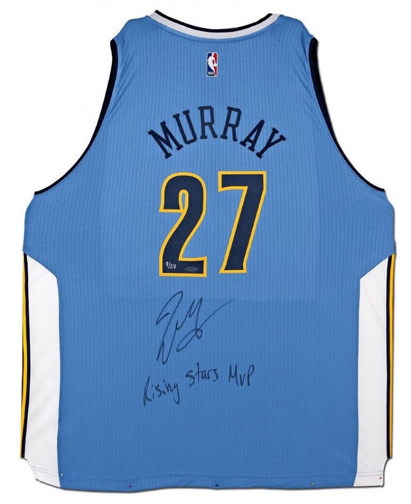 Image 1   Jamal Murray Signed Nuggets Adidas Jersey Inscribed
