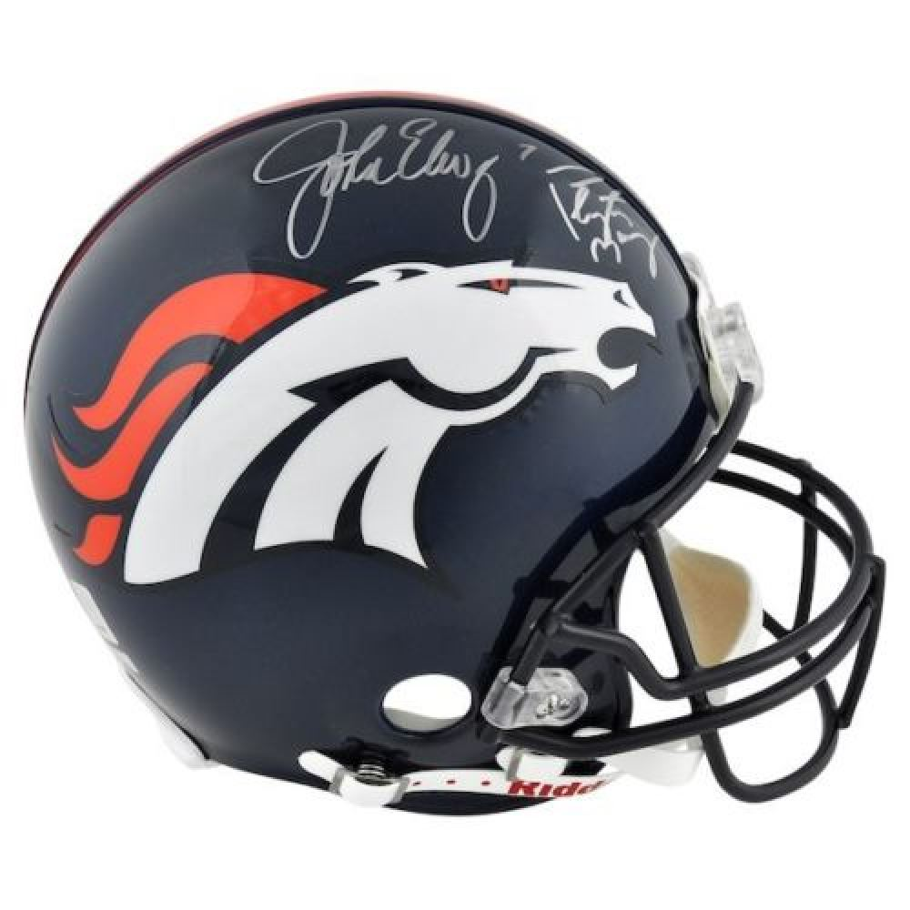 b84a6565b Image 1   Peyton Manning John Elway Signed Broncos Full-Size Authentic  On-Field