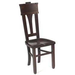 Arts & Crafts hall chair