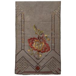 Arts & Crafts runner and tablecloth,