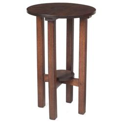 L & JG Stickley lamp table #560,