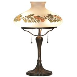 Handel Tam-O-Shanter table lamp,