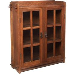Gustav Stickley  bookcase, #523,