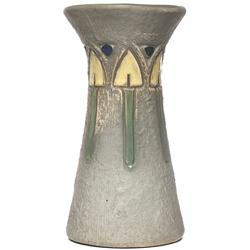Roseville  Mostique vase, green