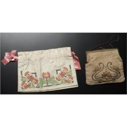 Arts & Crafts purse embroidered
