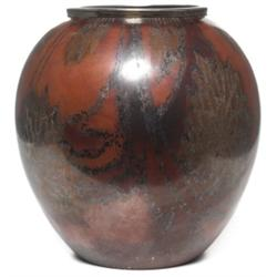 WMF vase, bulbous form in silver
