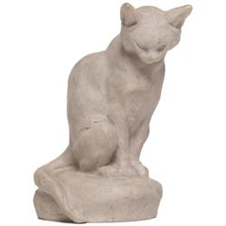 French Art Pottery figural, cat