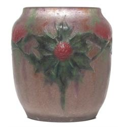 G. Argy-Rousseau vase, raised design