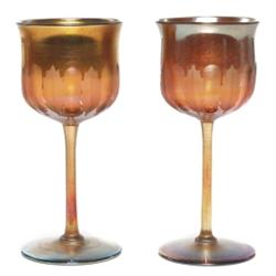 L.C. Tiffany glasses, set of two