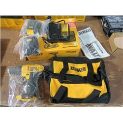 "DEWALT COMPACT DRILL/DRIVER KIT 20V 1/2"" INCLUDES BATTERY, CHARGER AND BAG"