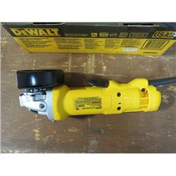 "DEWALT 4 1/2"" PADDLE SWITCH SMALL ANGLE GRINDER"