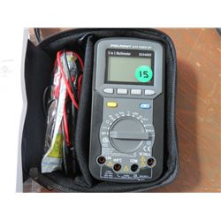 PROPOINT 5 IN 1 AUTO RANGING DIGITAL MULTIMETER