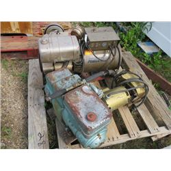 2 GENERATORS & ELECTRIC PUMP