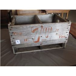 Wooden Crate 7Up 1 divider
