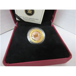 2009 $3 FINE SILVER COIN RETURN OF THE TYEE