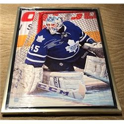 FRIDAY NIGHT! JONATHAN BERNIER AUTOGRAPHED FRAMED LIMITED EDITION CANVAS WITH COA