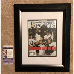 DEREK JETER AUTOGRAPHED 2009 COLLECTORS EDITION WORLD SERIES MAGAZINE WITH COA