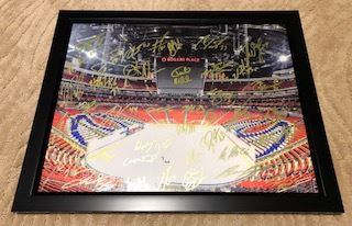 finest selection 0b6c8 af4ed EDMONTON OILERS FRAMED PHOTO INCLUDING 42 AUTOGRAPHS FROM CONNOR MCDAVID  AND WAYNE GRETZKY AND MANY