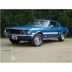 1:30PM SATURDAY FEATURE 1968 MUSTANG GT 390 S CODE
